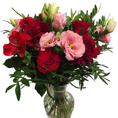 skicka blommor kalmar